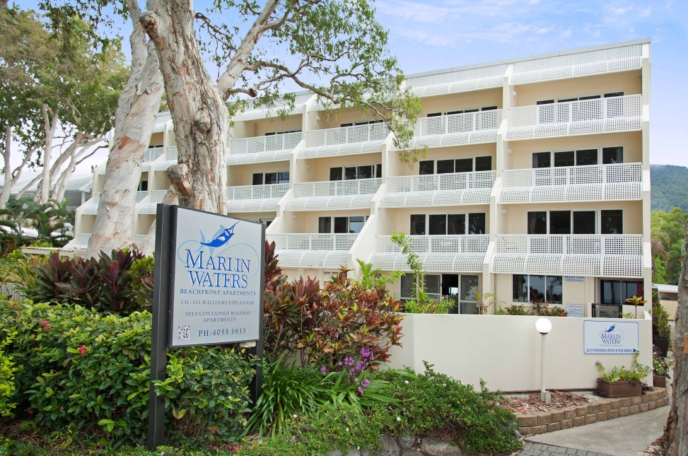 Marlin Waters Beachfront Apartments - Accommodation Daintree