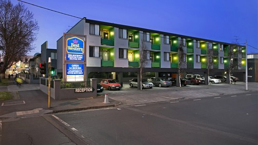 Best Western Melbourne's Princes Park Motor Inn - Accommodation Daintree