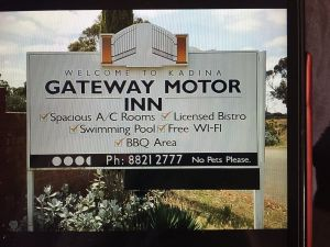 Kadina Gateway Motor Inn - Accommodation Daintree