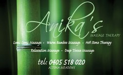 Anikas Massage Therapy - Accommodation Daintree