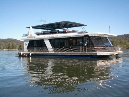 Able Hawkesbury River Houseboats - Accommodation Daintree