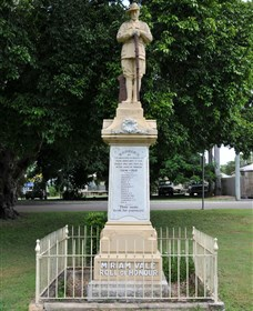 Miriam Vale War Memorial - Accommodation Daintree