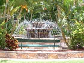 Bauer and Wiles Memorial Fountain - Accommodation Daintree