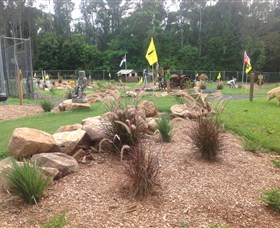 The Cove Miniature Golf Course - Accommodation Daintree