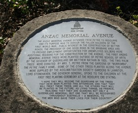 Anzac Memorial Avenue Redcliffe