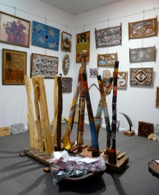 Laddie Timbery Bidjigal Aboriginal Art and Crafts - Accommodation Daintree
