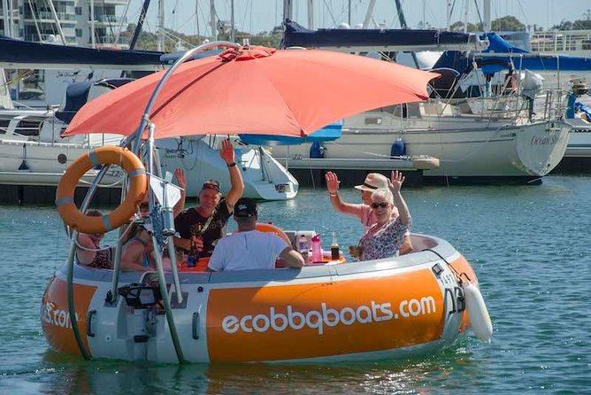 Self-Drive BBQ Boat Hire Mandurah - Group of 7 - 10 people - Accommodation Daintree