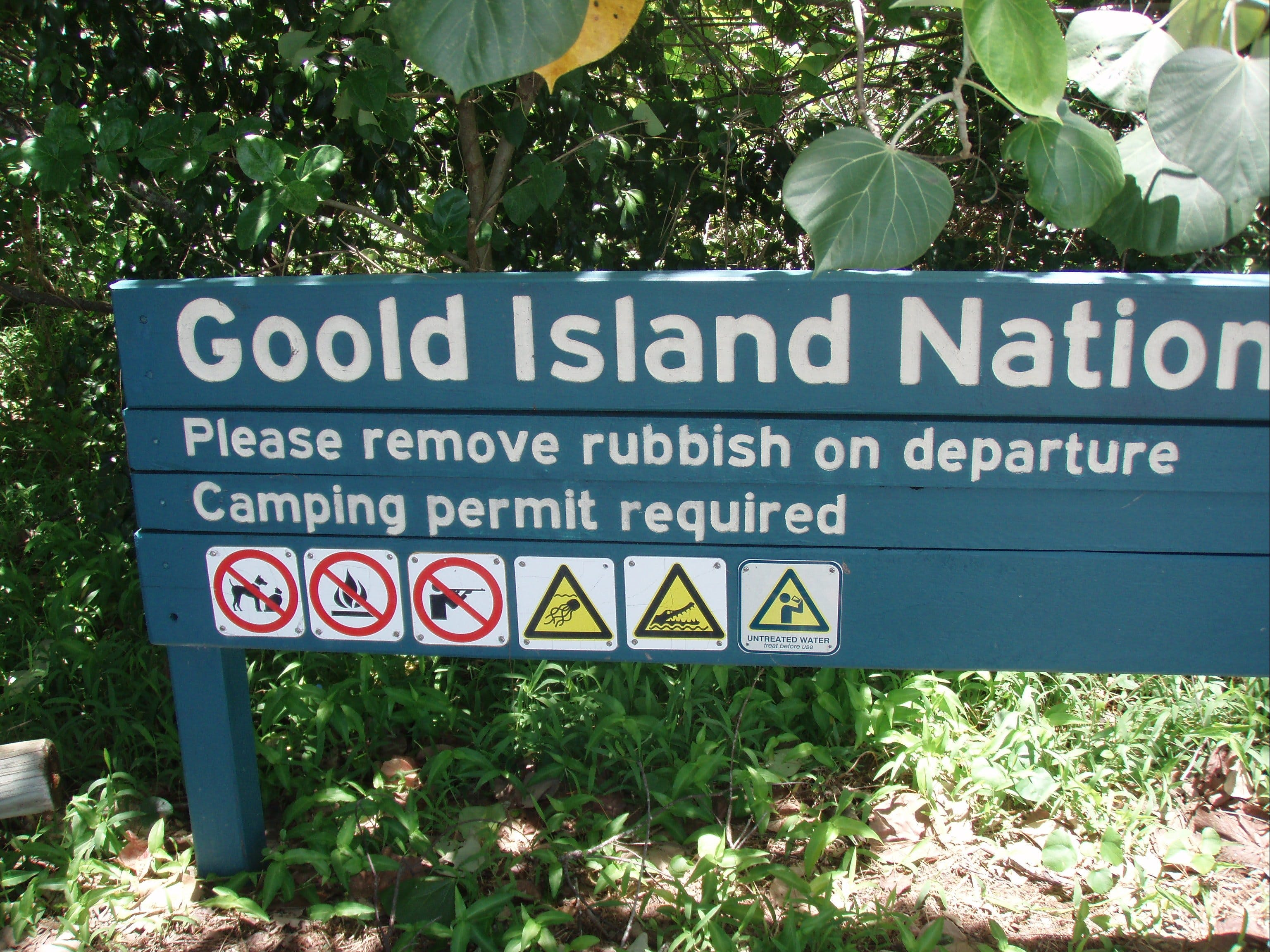 Goold Island National Park - Accommodation Daintree