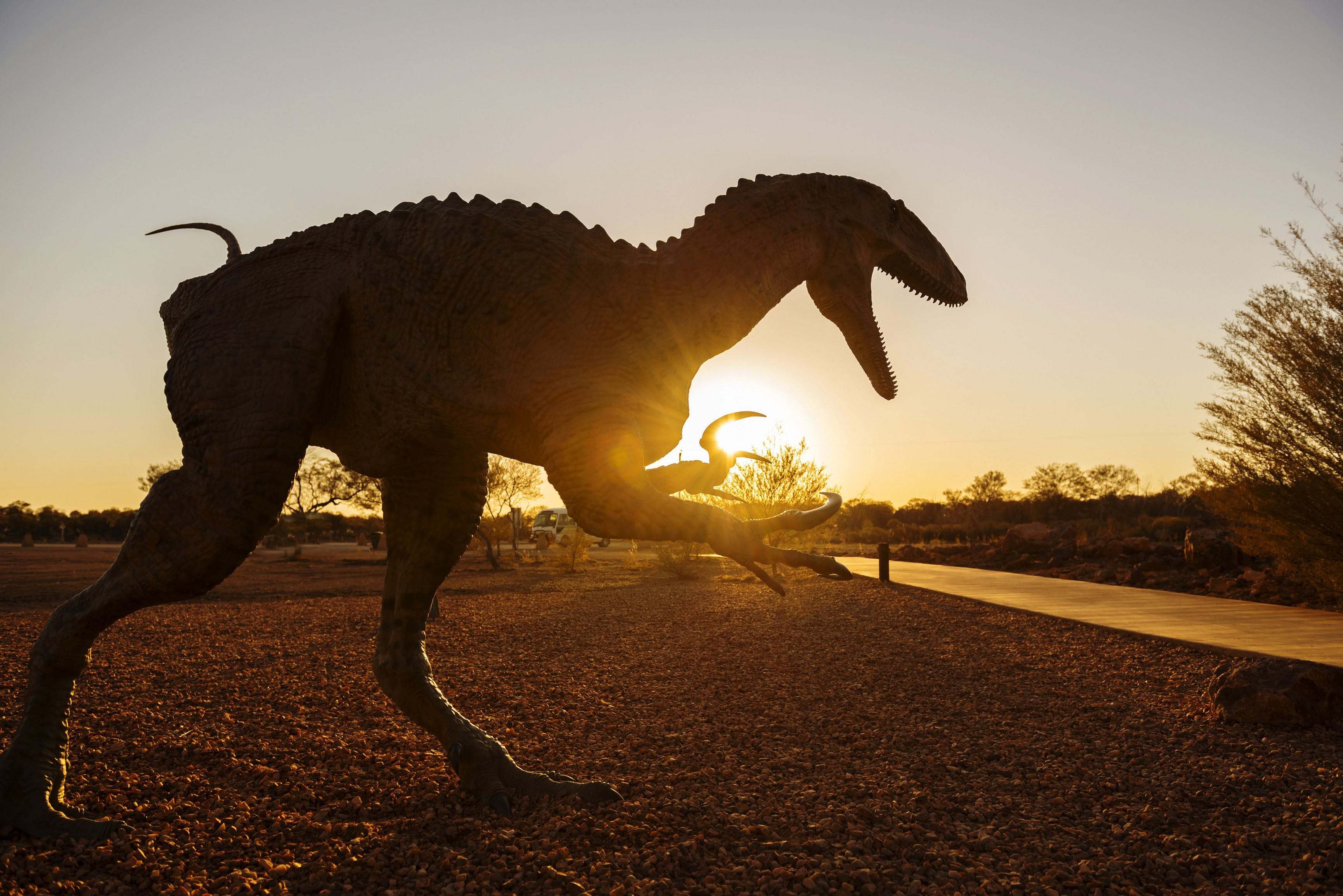 Australian Dinosaur Trail - Accommodation Daintree