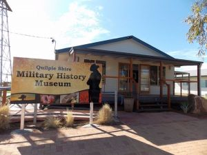 Quilpie Shire Military History Museum - Accommodation Daintree