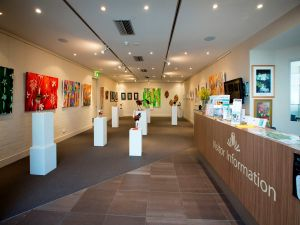 Australian National Botanic Gardens Visitor Centre Gallery - Accommodation Daintree
