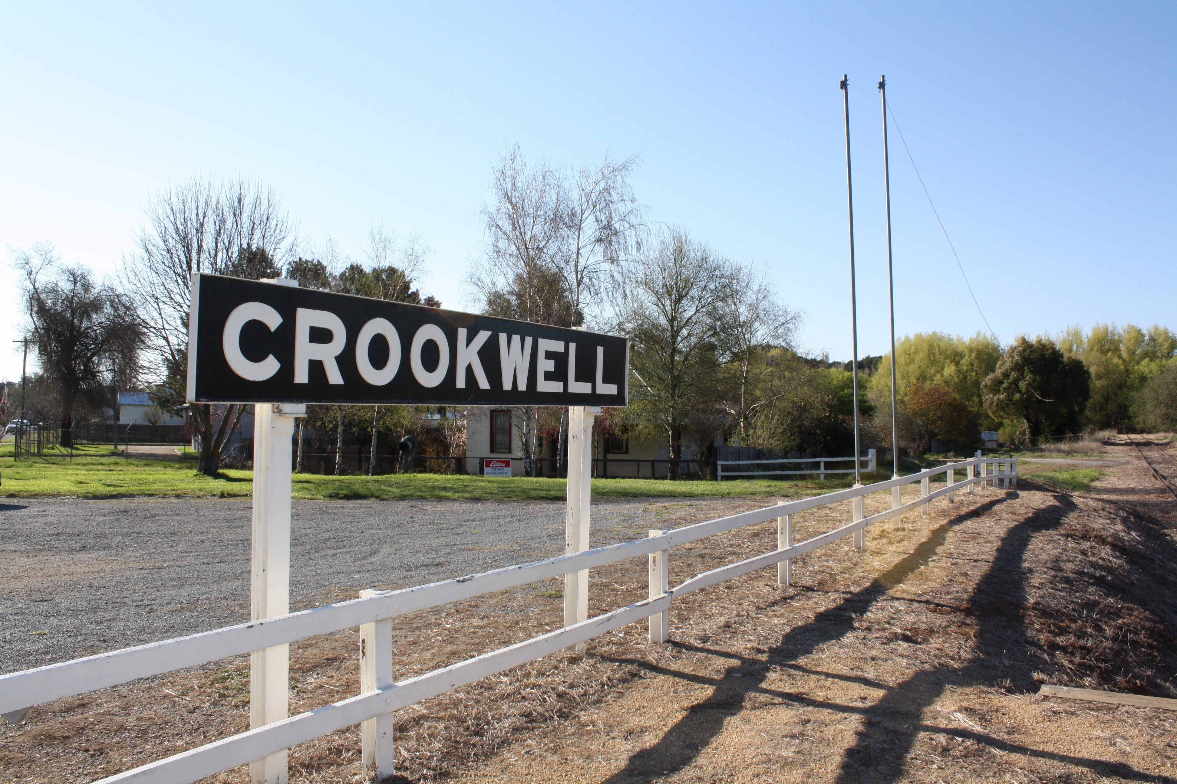 Crookwell Railway Station - Accommodation Daintree