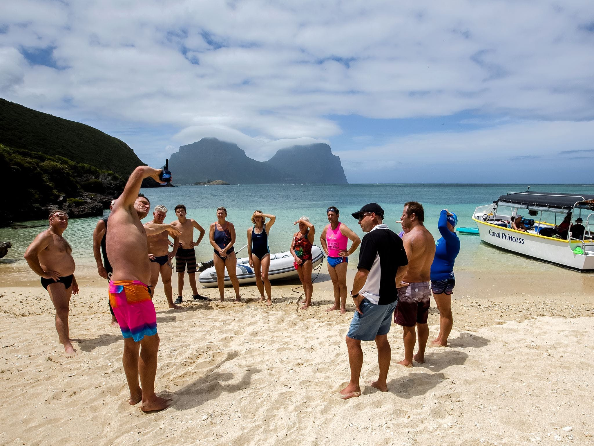 Ocean Swim Week with Trevor Hendy Pinetrees Lord Howe Island - Accommodation Daintree