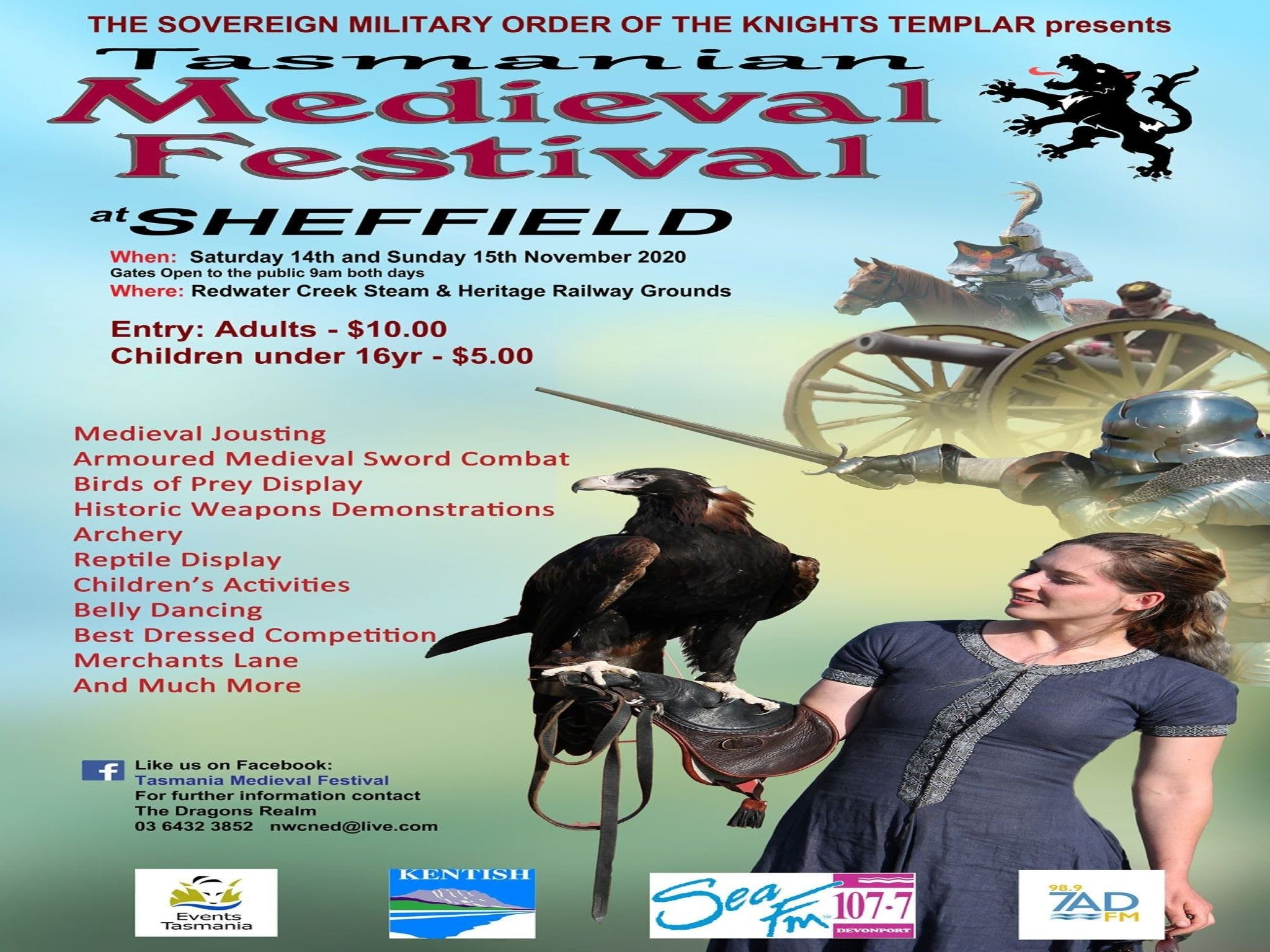 Sheffield Tasmania Medieval Festival 2020 - Accommodation Daintree