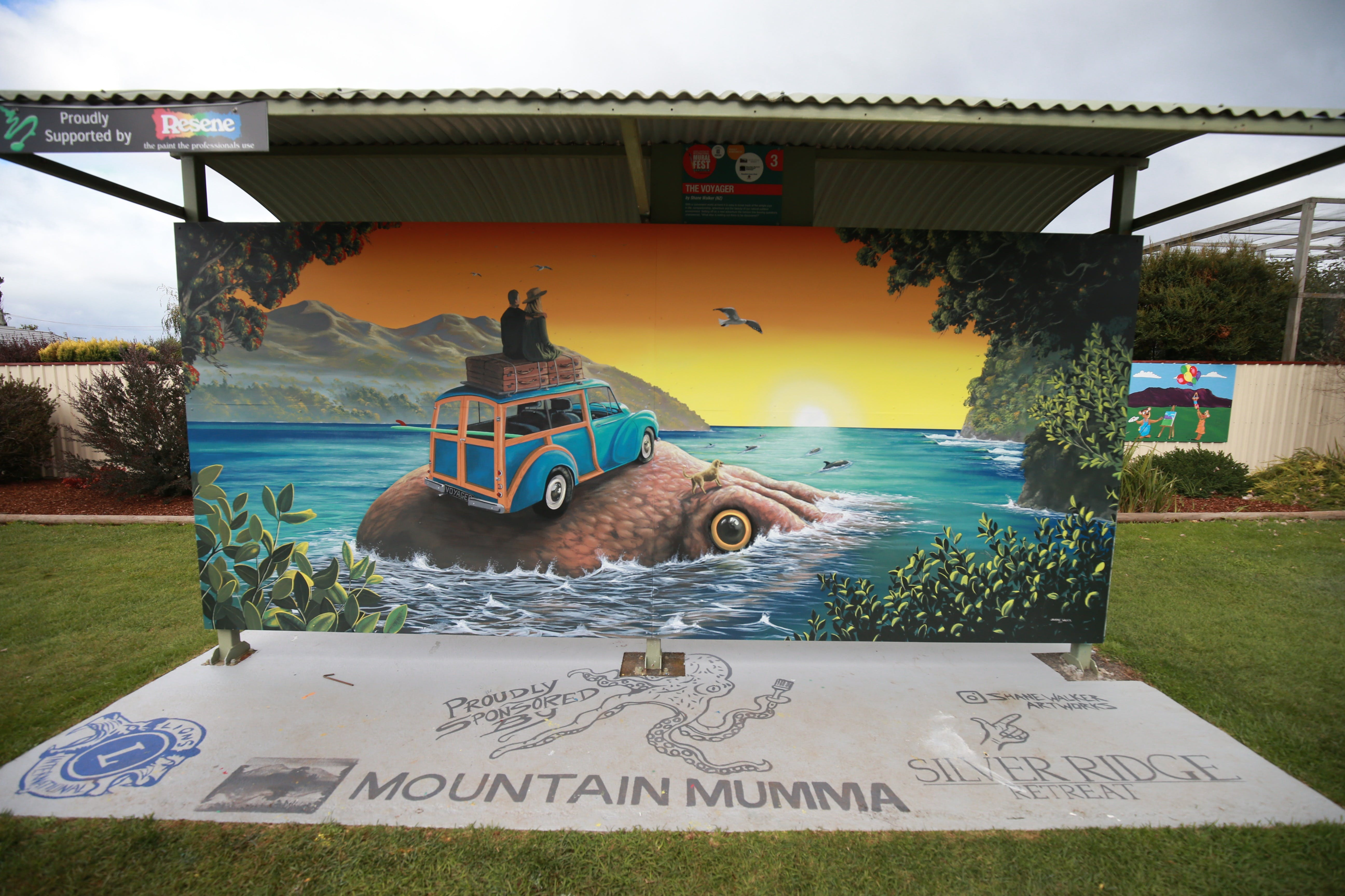 Davies Construction International Mural Fest - Accommodation Daintree