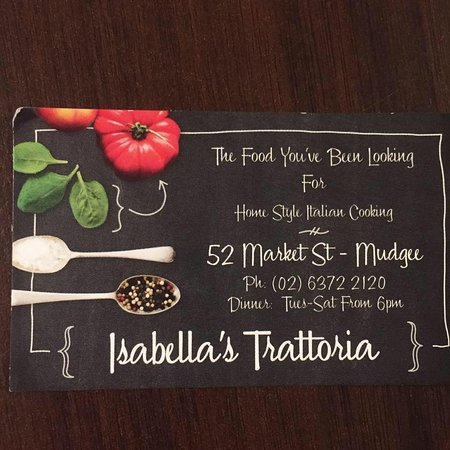 Isabella's Trattoria - Accommodation Daintree