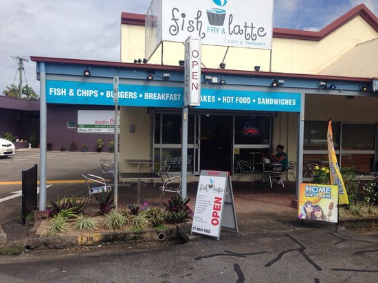Fish Fry  Latte - Accommodation Daintree