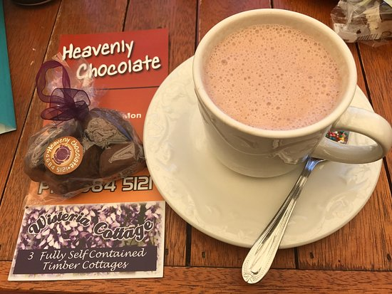 Stanthorpe's Heavenly Chocolate at Wisteria Cottage - Accommodation Daintree
