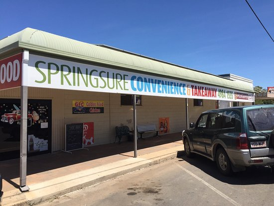 Springsure Convenience  Takeaway - Accommodation Daintree