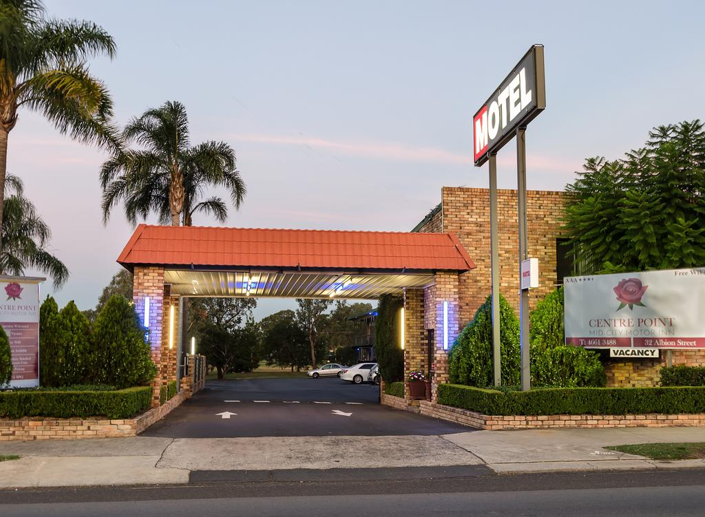 Centrepoint Midcity Motor Inn - Accommodation Daintree