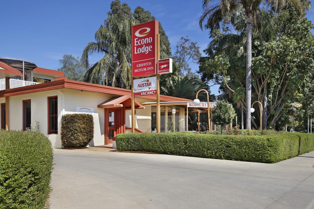 Econo Lodge Griffith Motor Inn - Accommodation Daintree