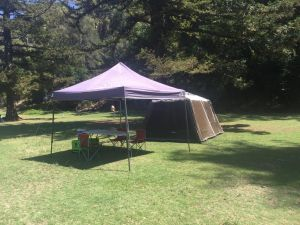 Basin Ku-ring-gai Campsite Set Up - Accommodation Daintree